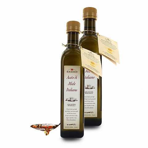 Aceto Di Miele Italiano, Bottiglia Rustica, 500 Ml ...