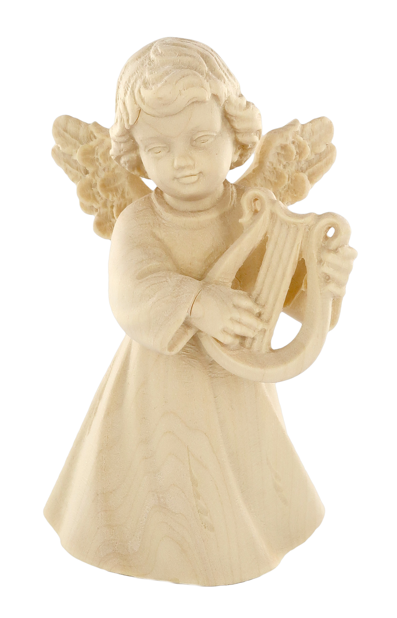 Ferrari /& Arrighetti Statuina dellangioletto Che Prega in Legno Naturale Demetz Deur Collezione Angeli Sognatori Linea da 11 cm